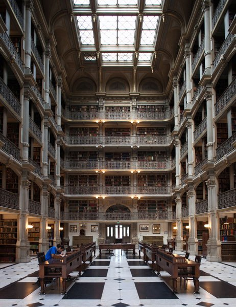 George Peabody Library: Baltimore, MD