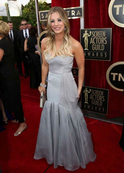 Kaley Cuoco--love the color, and I'm a huge fan of hers.