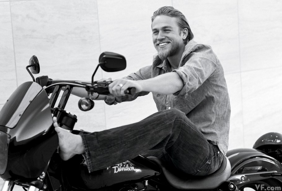 Charlie Hunnam photo by Bruce Weber