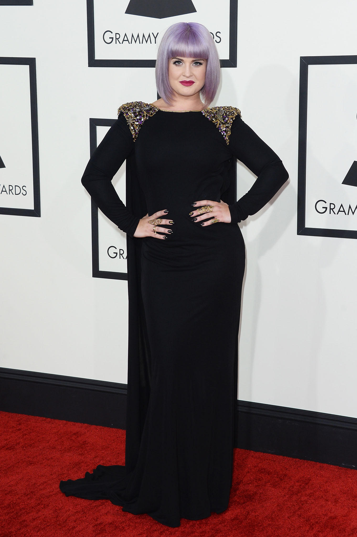 Not everyone loves Kelly Osbourne's style, but I think she always looks gorgeous.