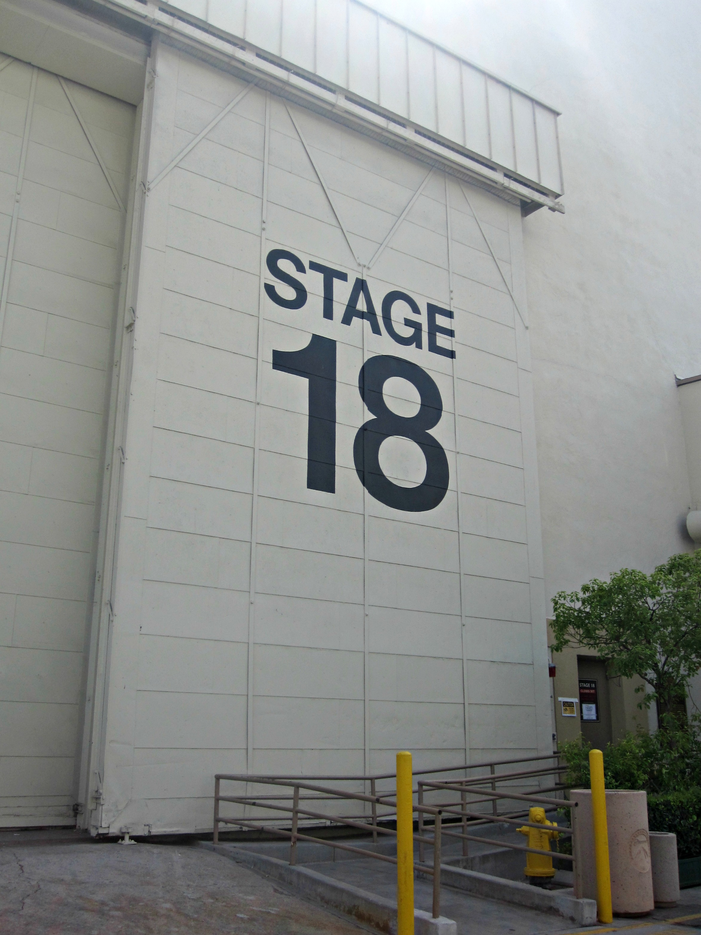 Stage 18 where one of my favorite films Rear Window was filmed.