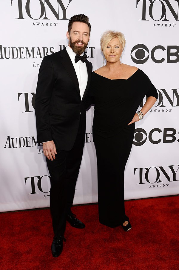 Host Hugh Jackman and lovely wife Deborra Lee Furness.