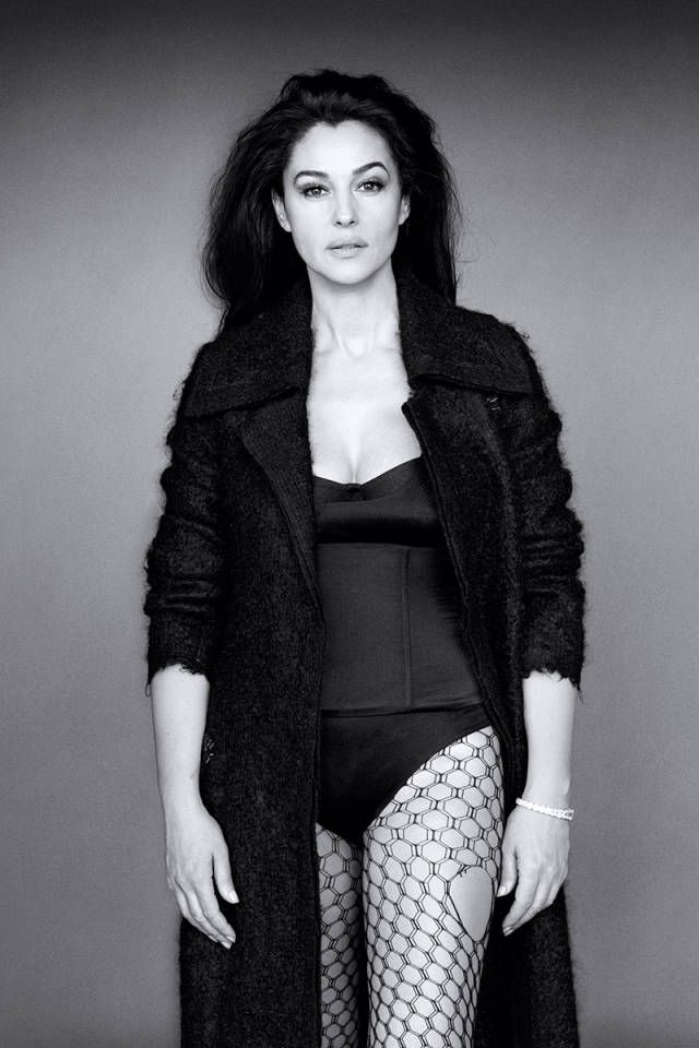 Monica Bellucci in Calvin Klein Collection