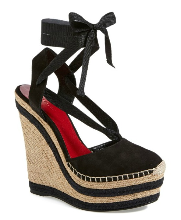 Gucci Alexis Wedge Espadrille