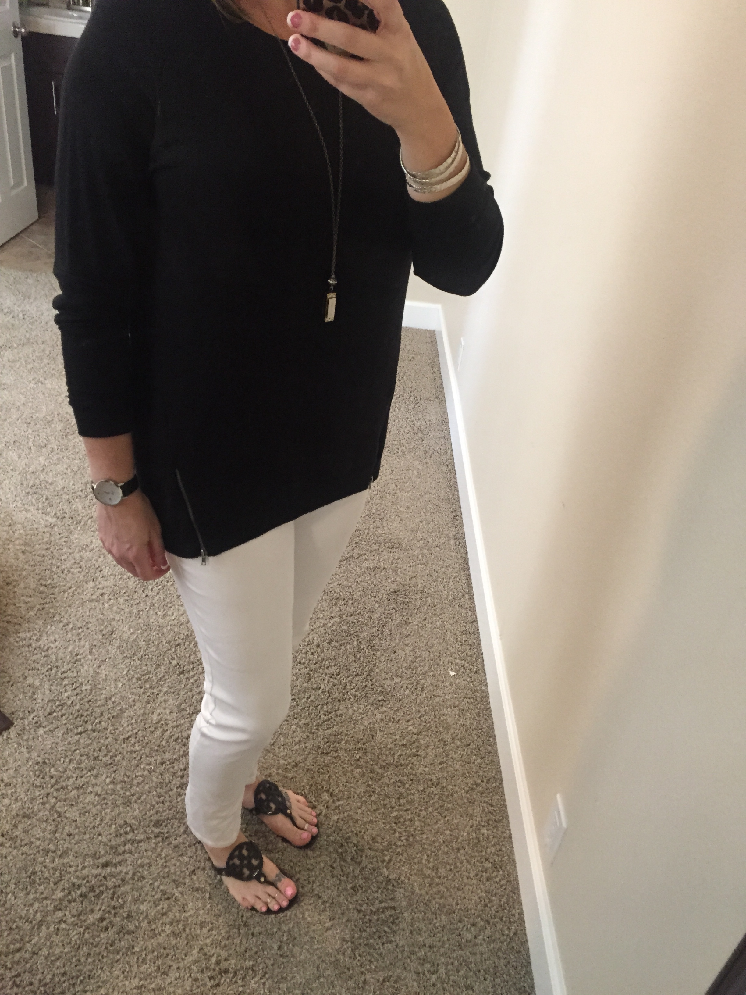 What I'm Wearing–Classic Black and White