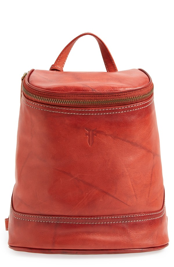 Frye 'Small Campus' Leather Backpack $298