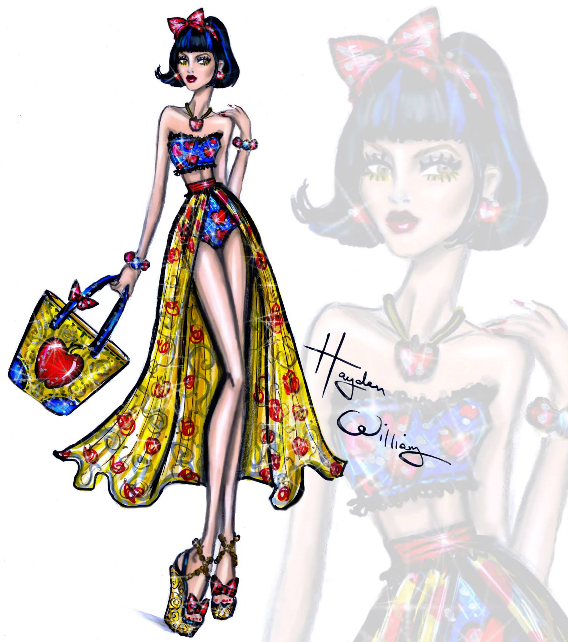 Hayden Williams–Disney Divas 'Beach Beauties'