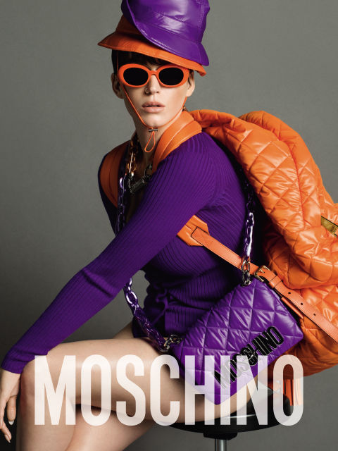 Katy Perry (yep that's her!) for Moschino.  Photo by Inez and Vinoodh.