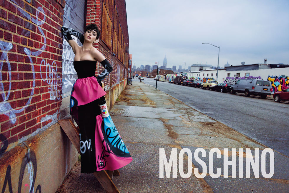 Katy Perry for Moschino.  Photo by Inez and Vinoodh.