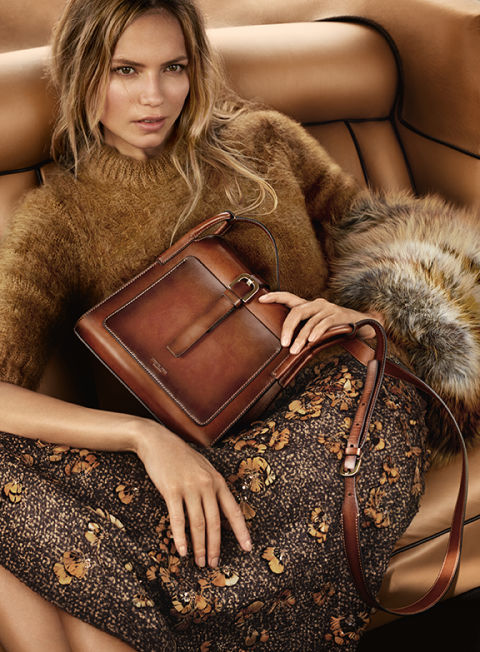 Natasha Poly for Michael Kors.  Photo by Mario Testino.