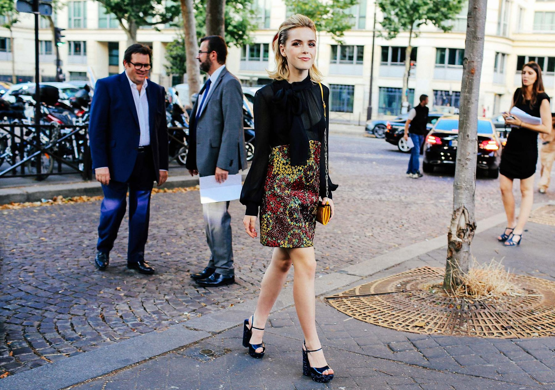 5618d528ddb Paris Couture Fashion Week–Street Style Fall 2015