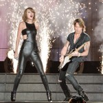 Taylor Swift and Keith Urban