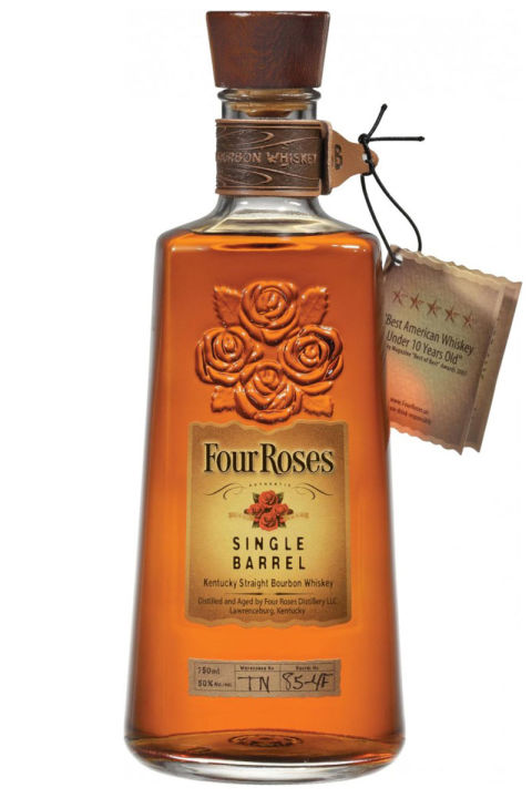 Four Roses Single Barrel Bourbon, $42; bevmo.com
