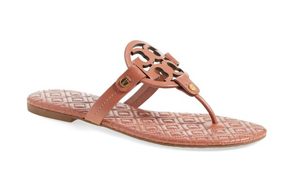 Tory Burch 'Miller' Quilted Sandal $195