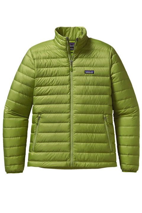 Patagonia Down Sweater Jacket, $229; patagonia.com