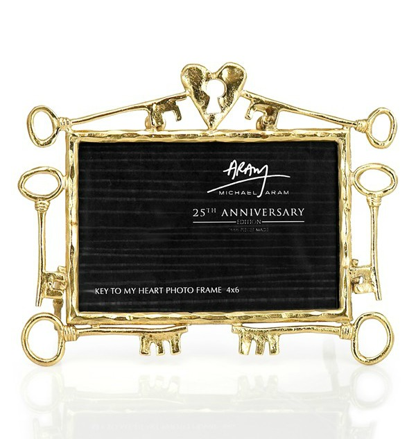Michael Aram 'Key to My Heart - 25th Anniversary' Picture Frame (Limited Edition) $129