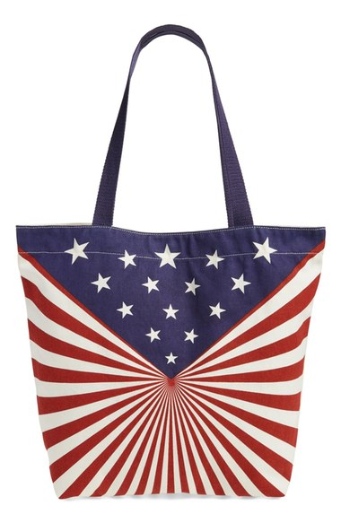 BP 'Americana' Cotton Canvas Tote $11.98