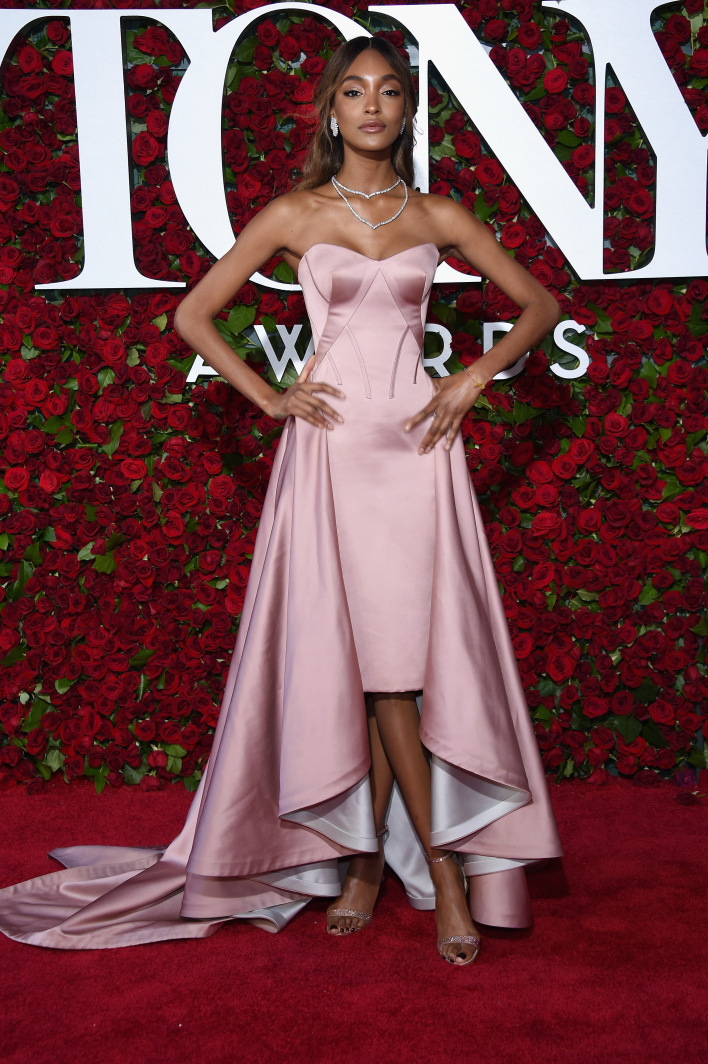 NEW YORK, NY - JUNE 12:  Jourdan Dunn attends the 70th Annual Tony Awards at The Beacon Theatre on June 12, 2016 in New York City.  (Photo by Dimitrios Kambouris/Getty Images for Tony Awards Productions)