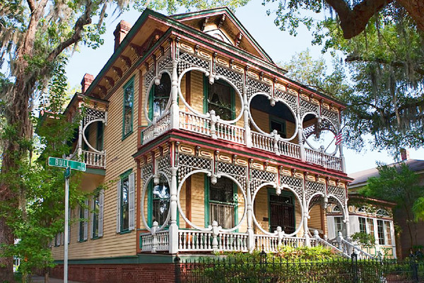Savannah, Georgia Savannah is one of the most beautiful and haunted places in the South. From spooky hotels to murder houses to Civil War battlefields, you're sure to get your fix of spirits in this town. It's perfect for a Halloween weekender from Atlanta or Jacksonville.