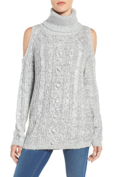 Chelsea 28 Cold Shoulder Sweater. $99.