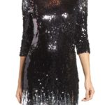 B.B. Dakota Elise Sequin Body-Con Dress $128